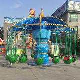 スリル満点の屋外の運動場の子供は乗る小さい飛行の椅子(DJ-FC035)に
