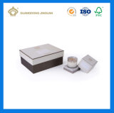 Crear el rectángulo de empaquetado de la vela para requisitos particulares con la tapa (el rectángulo rígido de la vela de la calidad)