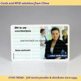 Cartões no smart card plástico do cartão de microplaqueta do cartão do PVC do cartão do cartão de SIM