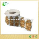 Роскошные ярлыки бумаги для бирок одежды (CKT-LA-399)