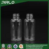 80ml Clear Pet Spray Garrafa com bomba de loção Pulverizador Cosmetic Packing Tool Travel Outdoor Small Shampoo Shower Gel Spray Bottle
