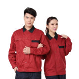 Uniforme rossa e nera dell'OEM di carbone della miniera del Workwear, Workwear del meccanico per gli uomini