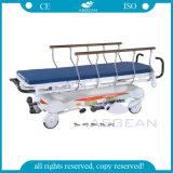 AG-HS001 최신 판매 향상된 병원 유압 이동 들것 차원