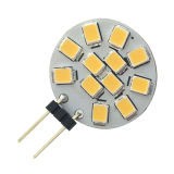 12PCS 2835SMD 1.8W 180lm LED 전구 G4 (LED-G4-012)