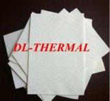 Buena resistencia de choque termal del Zirconia del papel de cerámica refractario de la fibra