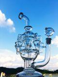 Wasser-Rohr der Prinzessin-Nikki Mothership Recycler Glass