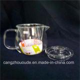 POT del tè di alta qualità trasparente e caldaia di vetro poco costosi 370g stabilito