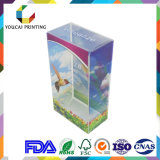 Qualität sichtbar gemachter transparenter PVC/Pet/PP Kasten mit Farben-Drucken
