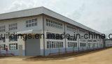 Edificios prefabricados del almacén de la estructura de acero en África