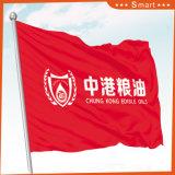 Kundenspezifische Regierungs-Institut-Markierungsfahne für im Freien oder Ereignis, das Modell Nr. bekanntmacht: CF-002