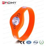 MIFARE Plus X 4k RFID NFC Wristband del silicio