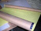 Ruban adhésif revêtu de téflon de haute résistance de PTFE Fiebrglass