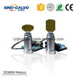 De coût scanner élevé Js3808 de Galvo efficacement pour l'inscription large de laser de largeur