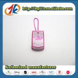 아이를 위한 보석 장난감으로 장식용 목을 박는 아름다운 셀룰라 전화