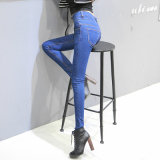 Fábrica de atacado Ladies Leisure Fashion Denim Jeans
