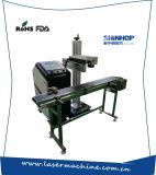 Máquina de la marca del grabado del laser de la fibra del metal de la mosca