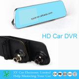 для 12V монитора телевизионной камеры зеркала автомобиля TFT LCD двойного, камера DVR Xy-G500 зеркала Rearview автомобиля 4.3 дюймов