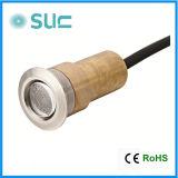 1W IP67 het LEIDENE van de Huisvesting van het Messing van de Dekking van het Roestvrij staal Licht van Inground (sld-14)