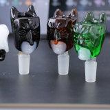 Eindeutiger Annimal Entwurfs-rauchende Glasrohr-multi Farben-rauchende Glasfilterglocke
