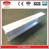 J-Formteil mit ausgedehntes Bein-Aluminiumwand-Umhüllung