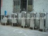 Cartucho de filtro al aire libre estéril industrial de agua del acero inoxidable