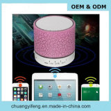 Lumière LED colorée Mini haut-parleur Bluetooth avec radio FM, Aux Line Ine, slot USB et service de logo personnalisé