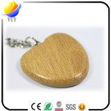 Chaîne principale en bois de forme faite sur commande de coeur