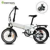 Bici eléctrica plegamiento gordo del neumático de la potencia verde 48V 500W del pequeño para la venta al por mayor