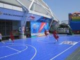 Plancher extérieur de Nicecourt et d'intérieur modulaire de terrain de basket, étage amovible de terrain de basket