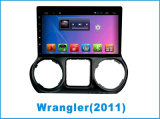 Het Androïde Systeem van de Speler van de auto DVD voor Wrangler 10.2 Duim met GPS Navigatie