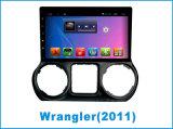 Система DVD-плеер автомобиля Android на Wrangler 10.2 дюйма с навигацией GPS
