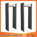 Détecteur de métaux de cadre de porte des prix de détecteur de métaux de garantie de 6 zones