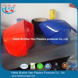 Gordijn van de Deur van de Strook van pvc van de Kwaliteit van RoHS het Ondoorzichtige Rode Flexibele Plastic