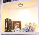 DimmableセンサーLEDの食器棚ライトか内部のワードローブライト