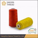 Cuerda de rosca resistente da alta temperatura ignífuga del hilo de coser