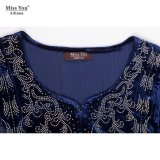 Miss You Ailinna 102983 Senhoras Soft Velvet Muslim Evening Dress com baixo preço