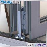 Puerta de acordión de aluminio