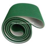 PVC緑のクリッパーのわにパターン高い摩擦コンベヤーベルト