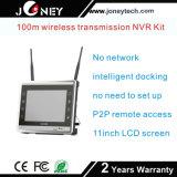 Gewehrkugel IP-Kamera WiFi NVR des gute der Qualitäts4/8 Kanal-P Radioapparat-Installationssatz 1080
