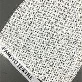 Tela de nylon do laço do algodão do projeto geométrico