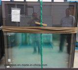 二重磁気ハンドル制御ガラスのブラインド