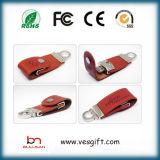 USBフラッシュドライバーUSBのメモリディスクの革Pendriveのフラッシュディスク