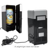 Le mini réfrigérateur de la fantaisie USB, mini glacière, mini réfrigérateur portatif de véhicule, boisson de boisson met en boîte réfrigérateur plus frais/plus chaud pour Laptop/PC