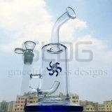 Tubo di acqua di vetro di grande funzione di Perc del mulino a vento di Gldg