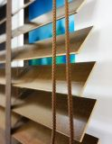 Cortinas do Basswood da boa qualidade ISO9001 do fabricante para a decoração Home