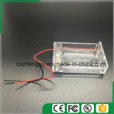 3AA löschen Batteriehalterung mit den roten/schwarzen Leitungen, decken ab und schalten