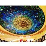 Wasserdichte Kunst färbte Glasmosaik-Ausgangsdekor gestaltete Decken-Fliesen