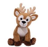 사랑스러운 동물성 견면 벨벳 사슴 장난감은 인형을 채웠다