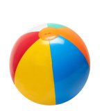 bille de plage gonflable de PVC ou de TPU de diamètre de 40cm sans logo