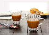 Высокая кофейная чашка 230ml термостойкого стекла кремния бора